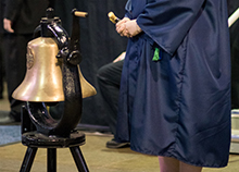 This week, as more than 800 students of California Baptist University prepare to walk during the three fall commencement ceremonies, they will hear the ringing of the bell, which will be carried out by several notable Lancers.