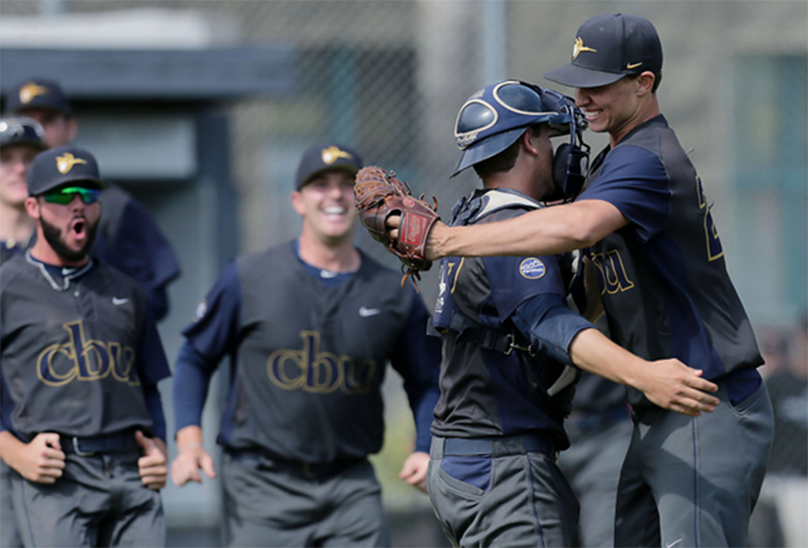 Lancers baseball wins playoff opener