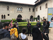 CBU students study historic architecture on trip to Italy