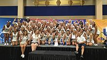 CBU dominates national cheer camp