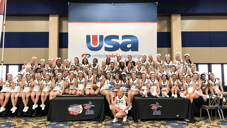 Lancers cheer begins defense of its 7 consecutive national championships