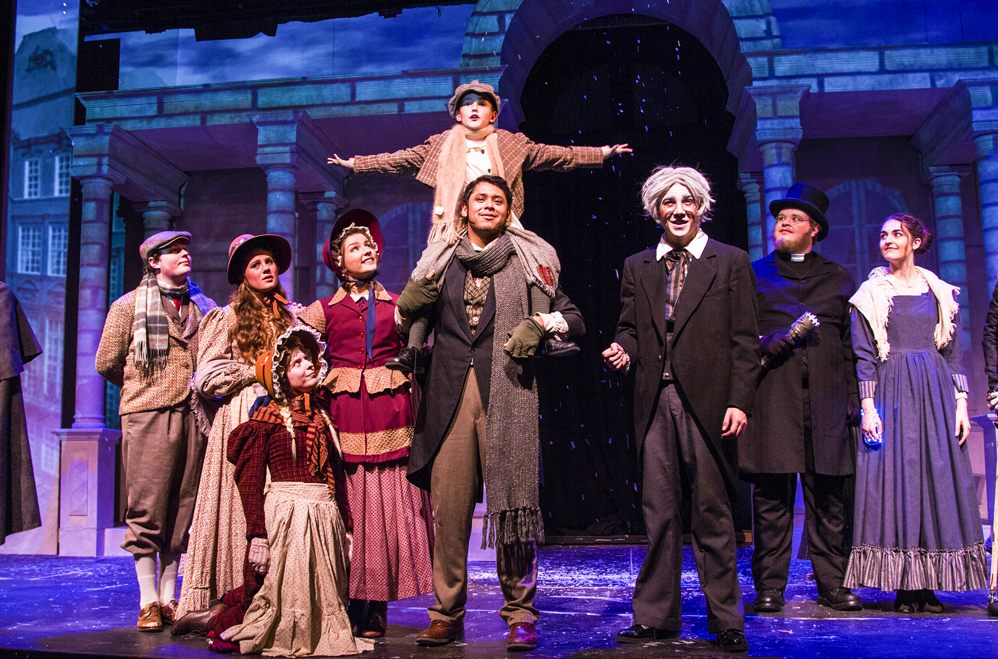 How Long Is The Christmas Carol Play.Cbu Theatre Program Brings Charles Dickens Holiday Classic