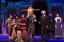"The theatre arts program at California Baptist University is bringing a classic to the Wallace Theatre in time for the holidays—Charles Dickens' ""A Christmas Carol."""
