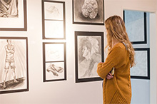 Honors Exhibit displays creative artwork from CBU students