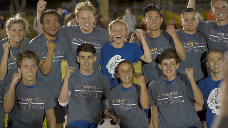 Team Italy wins Lancer Cup intramural soccer championship