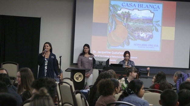 Legacy project discussed at Culture and Justice Lecture Series