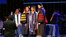 Hundreds of master's degree candidates at California Baptist University are celebrating their academic achievements at department specific hooding ceremonies this week, leading up to commencement ceremonies on Aug. 22.