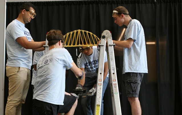 CBU summer engineering course offers fun challenges for high school students