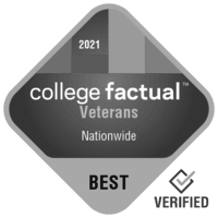 Top 10% of the country for veterans