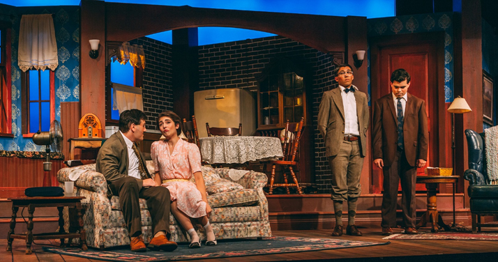 """The theatre arts program at California Baptist University brings comedy to the Wallace Theatre with """"Lost in Yonkers,"""" which opens the 2018-19 season."""
