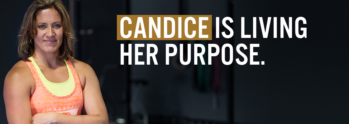 CANDICE IS LIVING HER PURPOSE