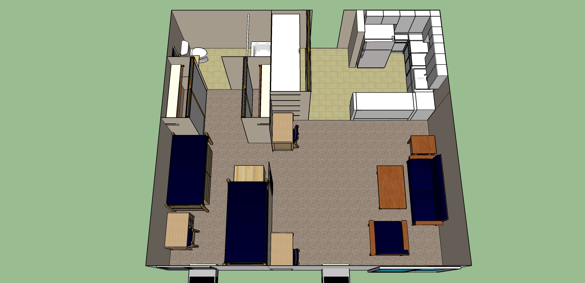 california baptist university residence life tower hall