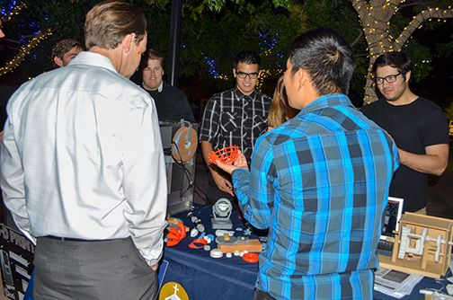 Spectators at the Long Night of Arts & Innovation were fascinated by the CBU College of Engineering's presentation of