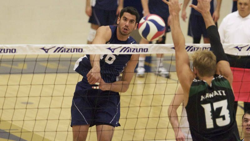 Levi Cabral was was named to the AVCA NCAA D I-II All-American first team.