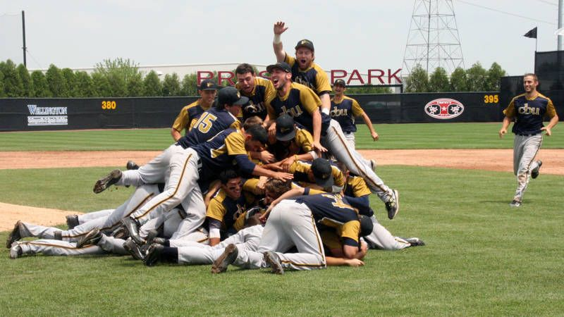 The CBU Lancers won their second straight NCCAA championship May 18.
