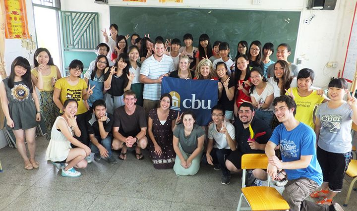 An International Service Project team serving in East Asia this summer worked with students.