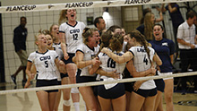 California Baptist University became the first program in PacWest history to win or capture a share of five conference championships during the fall athletic season.